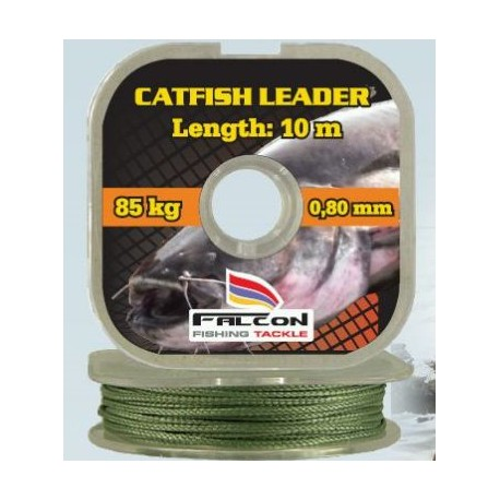 Návazcová splétaná šňůra Catfish Leader 10m