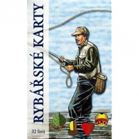 Hrací karty pro rybáře