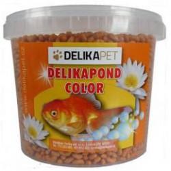 Krmení jezírkové ryby COLOR 3 l kyblík (500g)