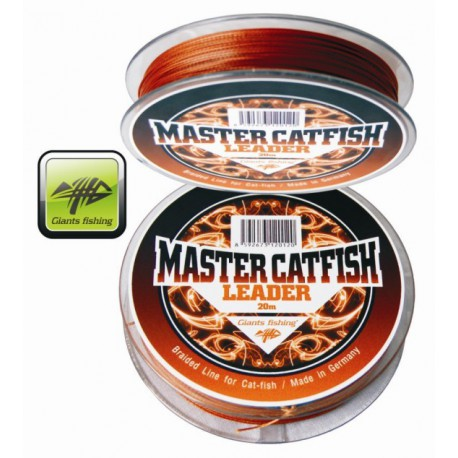 Šňůra sumcová Master Catfish Leader 0,80mm/20m