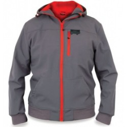 Bunda Fox Rage Softshell Grey/Red
