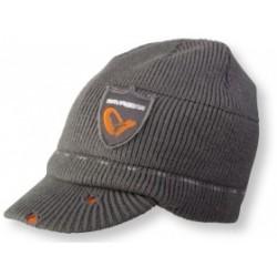 Čepice Savage Gear Logo Knit Beanie Grey