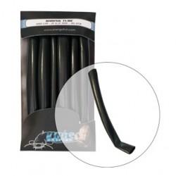 Smršťovací hadička na sumce 6,0mm/100cm black