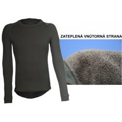Extrémně hřejivé triko dlouhý rukáv