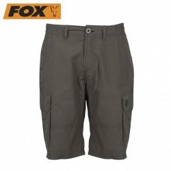 Kraťasy Fox Green & Black Lightweight Cargo Shorts
