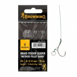 Browning - hotový návazec - Braid Feeder Leader Method Pellet