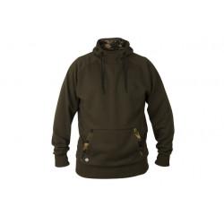 Fox Mikina s kapucí Chunk Dark Khaki / Camo hoodie