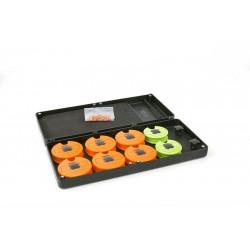 Fox Pouzdro Na Návazce Medium Disc Rig Box Sys Inc Pins Disc