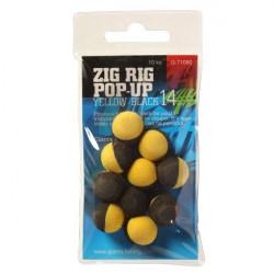 Pěnové plovoucí boilie Zig Rig Pop-Up 10mm