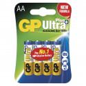 Alkalická baterie GP Ultra Plus LR6 (AA)