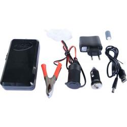 Vduchovací motorek AA Batterie, USB, auto adapter / 230V, sv