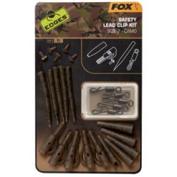 Fox Závěs na olovo Edges Camo Safety Lead Clip Kit vel. 7 5ks